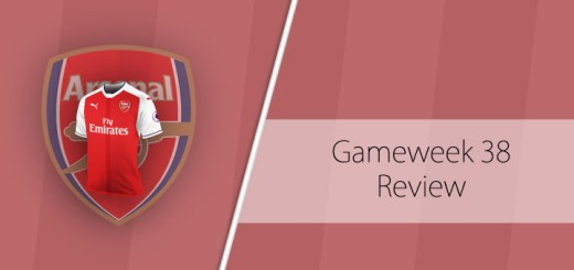 Gameweek 38 Review