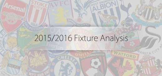 2015/2016 Fixtures
