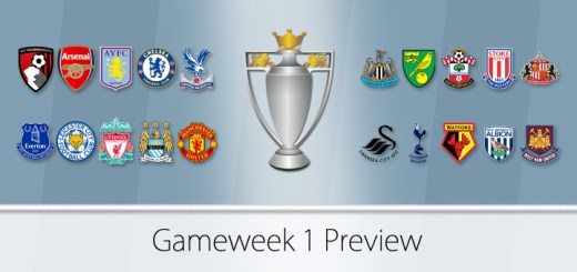 Gameweek 1 Preview