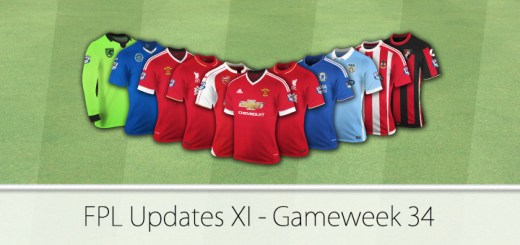 FPL Updates XI Gameweek 34