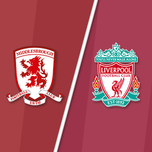 Middlesbrough vs Liverpool