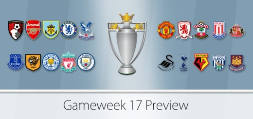 FPL Gameweek 17 Preview