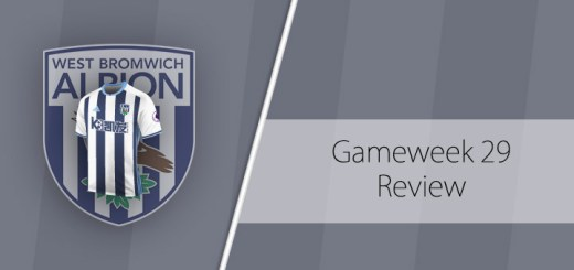 Gameweek 29 Review