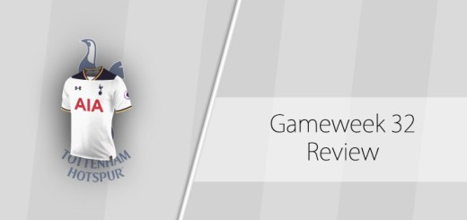 Gameweek 32 Review