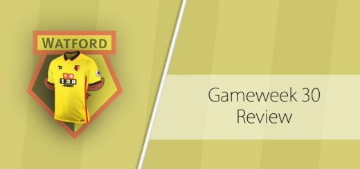 Gameweek 30 Review