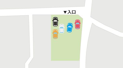 駐車場の混雑状況