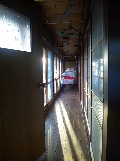 2階の縁側