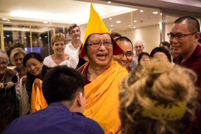 Lama Zopa Laughing