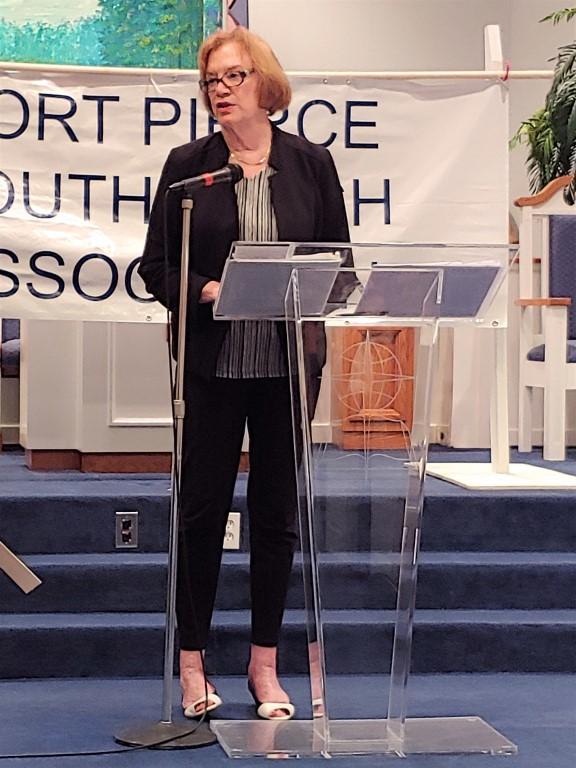 Guest Speaker Mayor Linda Hudson