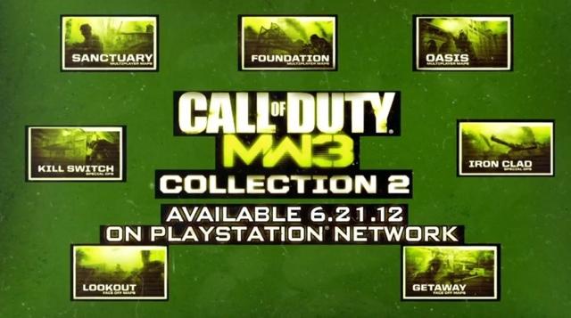 "[MW3] マップパック""COLLECTION 2""、PS3版とPC版が本日リリース!日本語版は…"