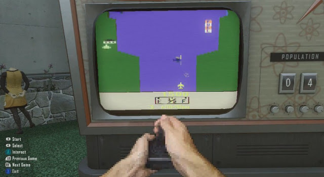 [BO2] 『Black Ops 2』NUKETOWN隠し機能。マネキンヘッドショットでファミコンが遊べます