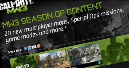 [MW3] 『CoD:Modern Warfare 3』すべてのDLC公開:マルチプレイヤーマップは最終的に全25マップへ
