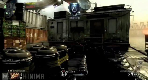 "[BO2] 『Black Ops 2』マルチプレイヤーのショットガン""M1216"" プレイ動画"