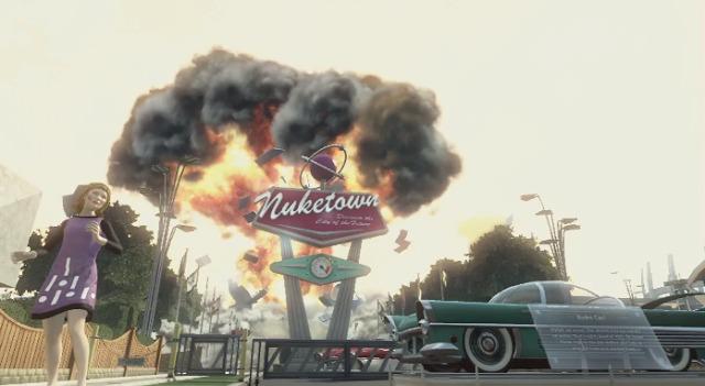 """[BO2] 『Black Ops 2』たった5秒の公式""""Nuketown 2025""""新動画 0:05"""