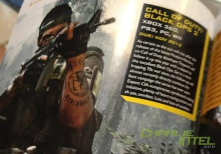 [BO2] 『Call of Duty:Black Ops 2』のパンフレット画像が流出か