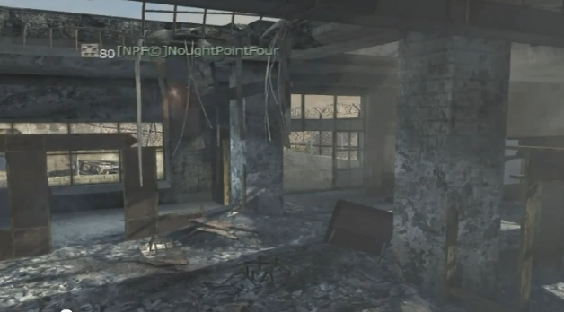 [MW3] グリッチ(裏技):新モード「INFECTED」 向けのジャンプスポット紹介動画。MOAB呼べちゃいそう。