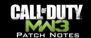 [MW3] パッチ:『CoD:Modern Warfare 3』パッチ1.20の内容(PS3、Xbox 360、PC版)