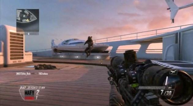 CoD:BO2:その距離もQSで?! 巧すぎて動きがキモい突撃スナイパープレイ動画