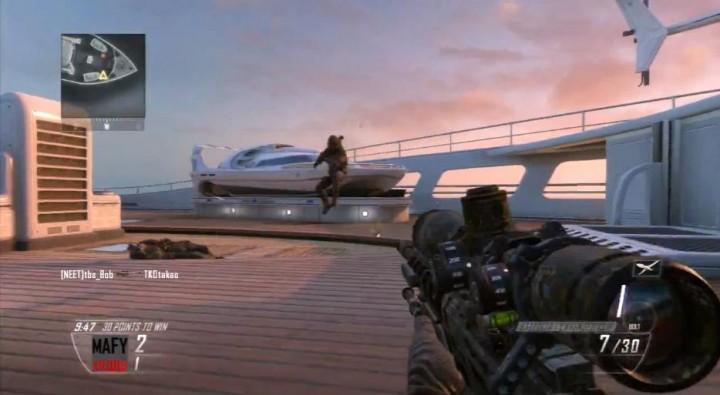 CoD:BO2:その距離もDSで?! 巧すぎて動きがキモい突撃スナイパープレイ動画