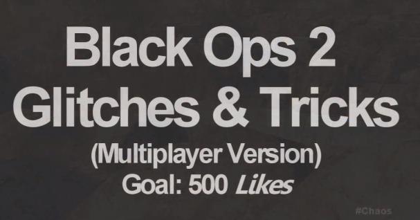 [BO2] グリッチ:早速『Black Ops 2』グリッチ動画公開(2本/Turbine, Standoff, Tranzit Zombie)
