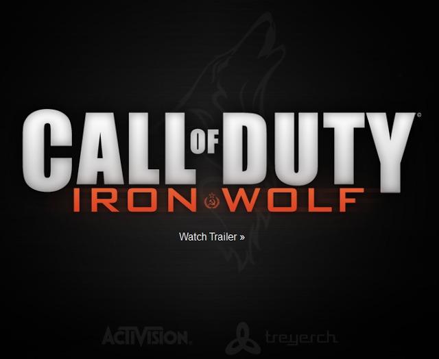 [MW3] 速報:CoDシリーズ新作「Call of Duty : Iron Wolf」公式サイトがオープンか【追記あり】