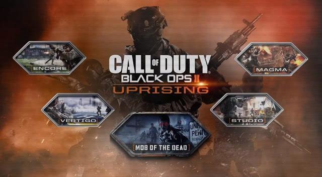 """CoD:BO2:PS3/PC向け第2弾DLC""""Uprising""""、5月16日配信!"""