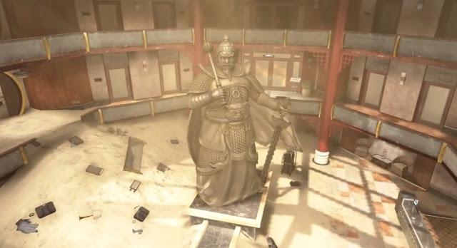 """[BO2] Black Ops 2:銅像マップ """"Mirage(ミラージュ)""""のマルチプレイ動画"""