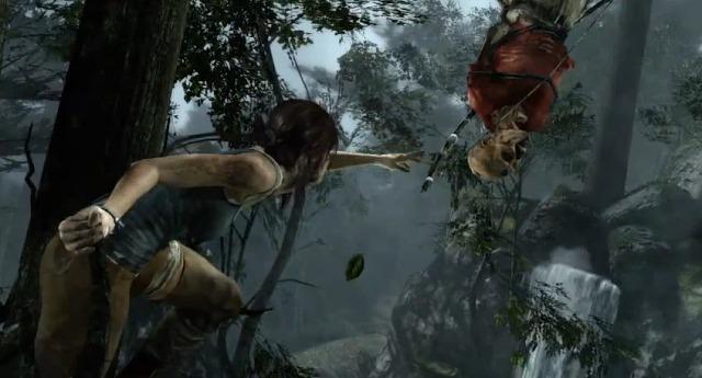 『Tomb Raider』ララ・クロフト、初めての「殺し」動画(プチ閲覧注意)