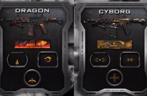 CoD:BO2:新迷彩は「サイボーグ」と「ドラゴン」に決定!