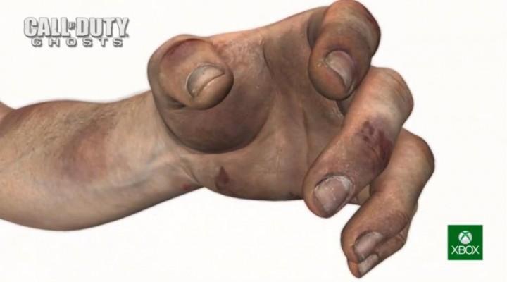 """次世代機『CoD:Ghosts』と現行機『CoD:Modern Warfare 3』 の比較動画。""""手""""が凄い・・・"""