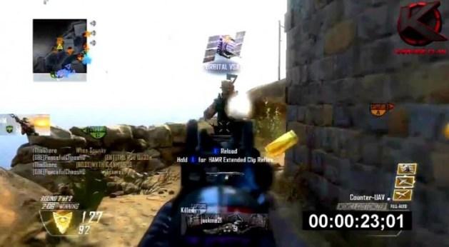 CoD:BO2:圧巻。50秒でニュークリアキラー達成動画