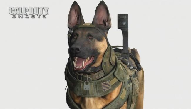 CoD:Ghosts:軍用犬を味方AIキャラとして登場させた理由。やはり重要ポジション?