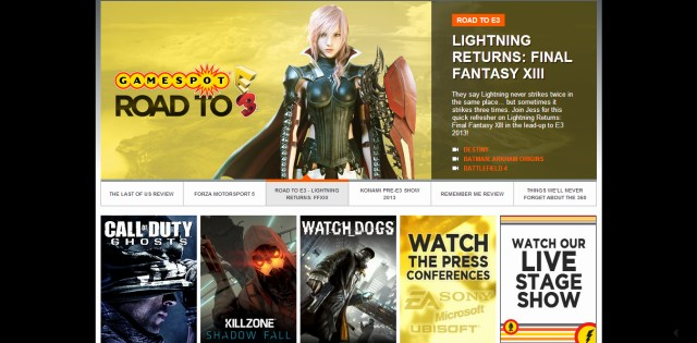 E3全ラインナップ発表!『CoD:Ghosts』ライブ配信は12日10時30分~