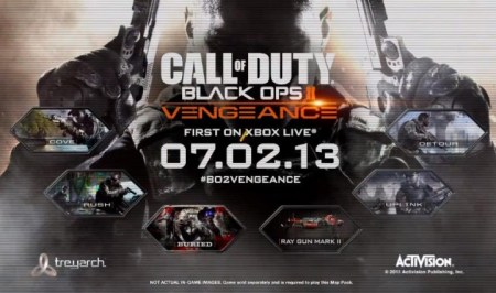 """CoD:BO2:第3弾DLC""""VENGEANCE""""プレイシーンのスクリーンショット"""