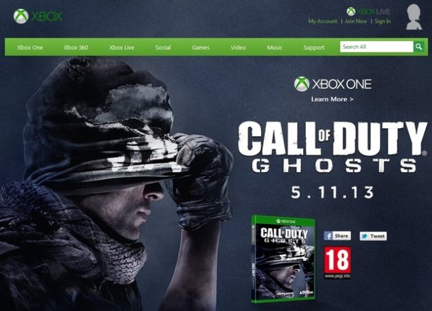 Call of Duty-Ghosts-xbox one
