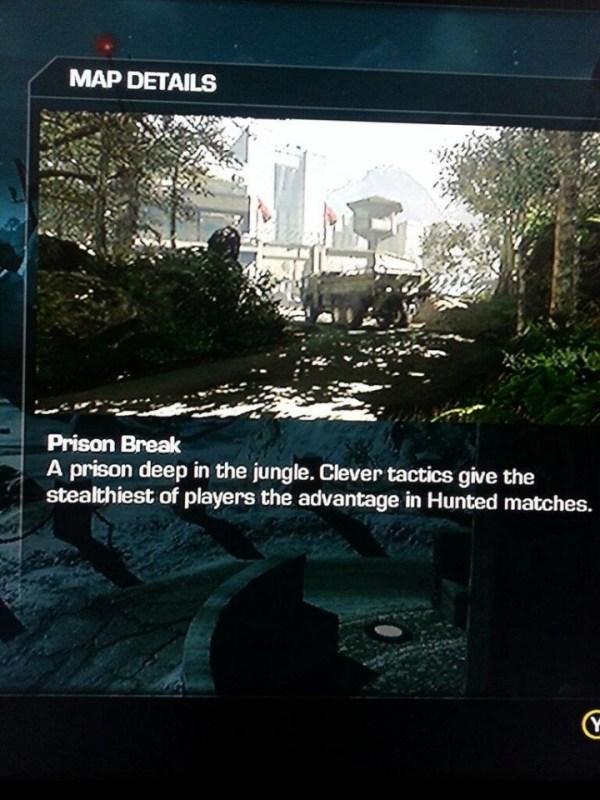 cod-ゴースト-prison breakマルチプレイヤーマップ