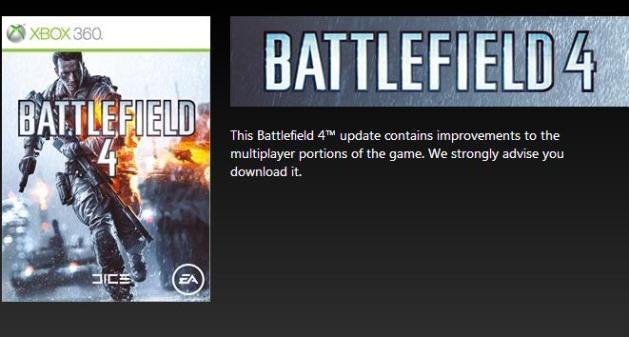 パッチ:Xbox 360版『BATTLEFIELD 4』のマルチを改善する重要なパッチ配信