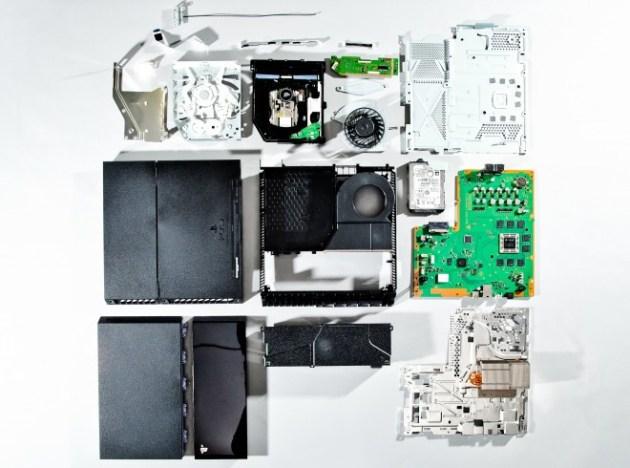 PlayStation 4の内部公開、担当エンジニアによる分解 (3)