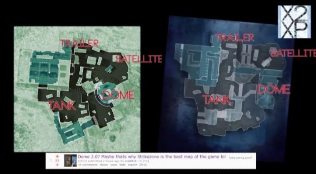 "CoD: ゴースト:マップ""Strikezone""は""DOME""のコピー?海外で熱い議論に"