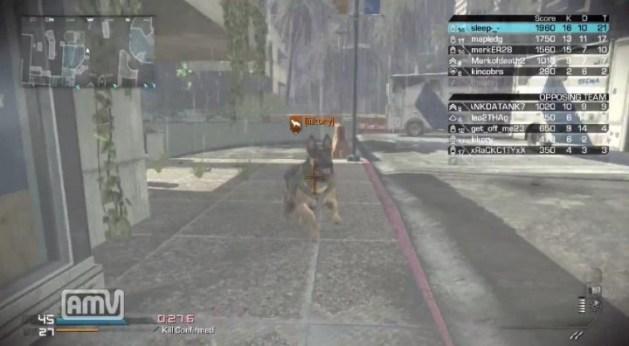 CoD: ゴースト:犬 vs 盾