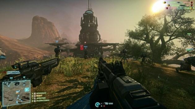 """SOE社長""""基本プレイ無料のFPS『PlanetSide 2』は、PS4にとっての『Halo』になる""""03"""