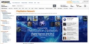 米Amazonに「PSNストア」がオープン!ゲームやDLCが購入可能に