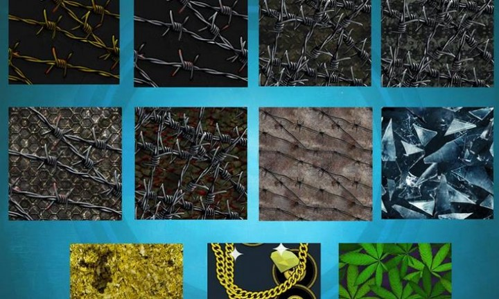 CoD: ゴースト:隠し迷彩?「金の鎖」「ガラス」「有刺鉄線」「マリファナ」など11イメージが公開