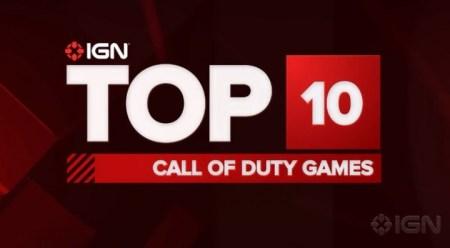 海外ゲームサイトIGNが選ぶ「Call of Duty」シリーズTOP10ランキング!