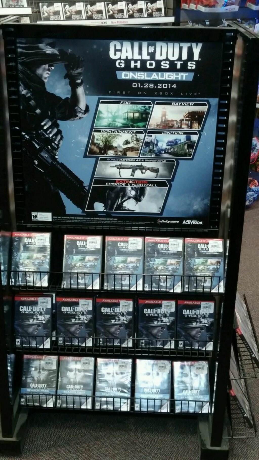 """CoD ゴースト 第一弾DLCパック""""Onslaught""""のポスター (2)"""
