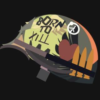 フルメタル・ジャケットのBorn To Kill