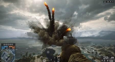 BATTLEFIELD 4:スタッフの遊び心、海に浮かぶリゾート客船を大爆発させるイースター・エッグを発見!