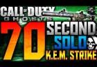 CoD ゴースト:70秒K.E.M.! 0:36がカオス