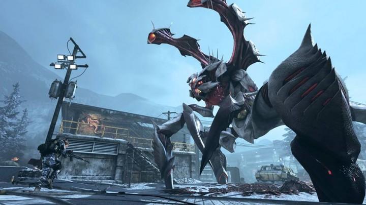 """CoD: ゴースト:第一弾DLC""""Onslaught """"の新巨大エイリアンやホラーなティザー動画が公開"""