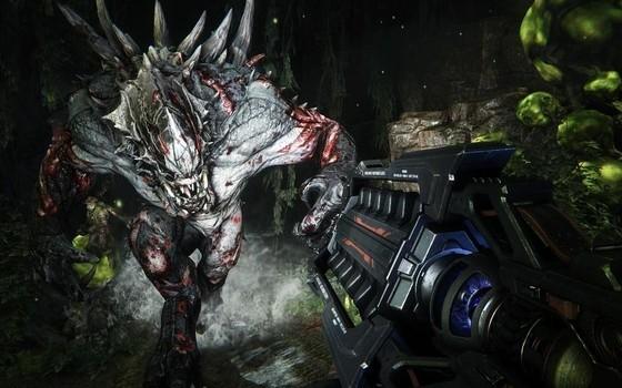 FPS版モンスターハンター、『Evolve』の最新トレイラーとプレイ映像を含むムービーを公開!
